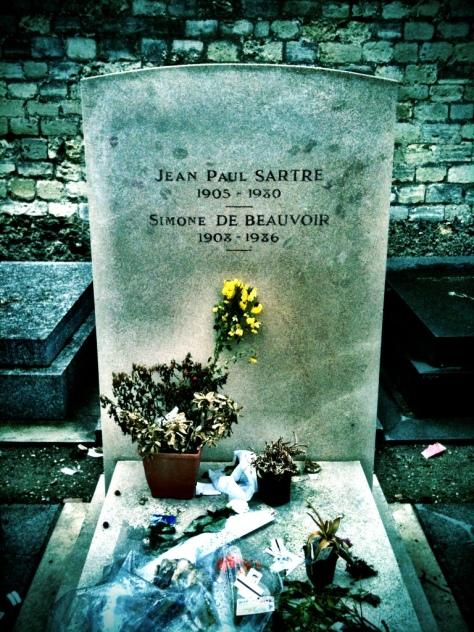 Al cimitero di Montparnasse