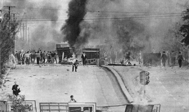 Il Cordobazo. 29 maggio 1969. Fonte: Wikipedia