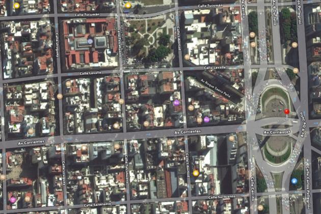 Buenos Aires. Corrientes. La strada di Aurora e Diego
