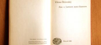 Viktor Šklovskij, Lettera sesta