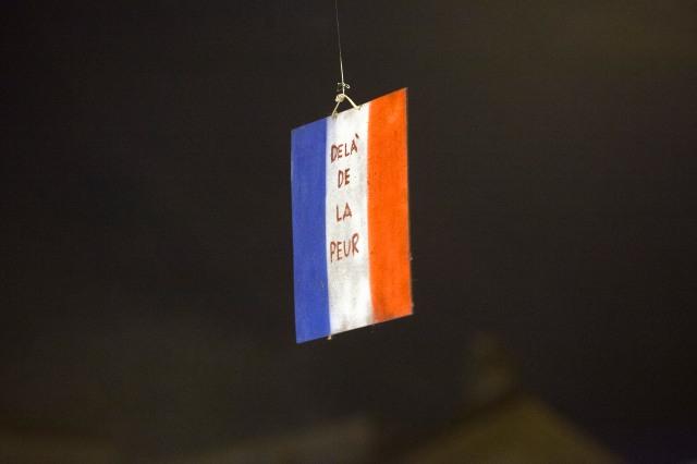 © Marco Merlini / Cgil Roma 14 novembre 2015 Fiaccolata silenziosa in piazza del Popolo per ricordare le vittime dei tragici attentati di Parigi