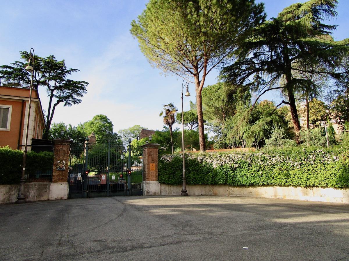 Via Ludovico Di Savoia Roma Villa Wolkonsky