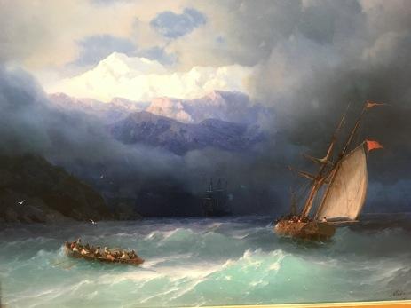 Le tempeste di Ajvazovskij