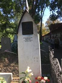 La tomba di Čechov (foto storta, la raddrizzo domani)